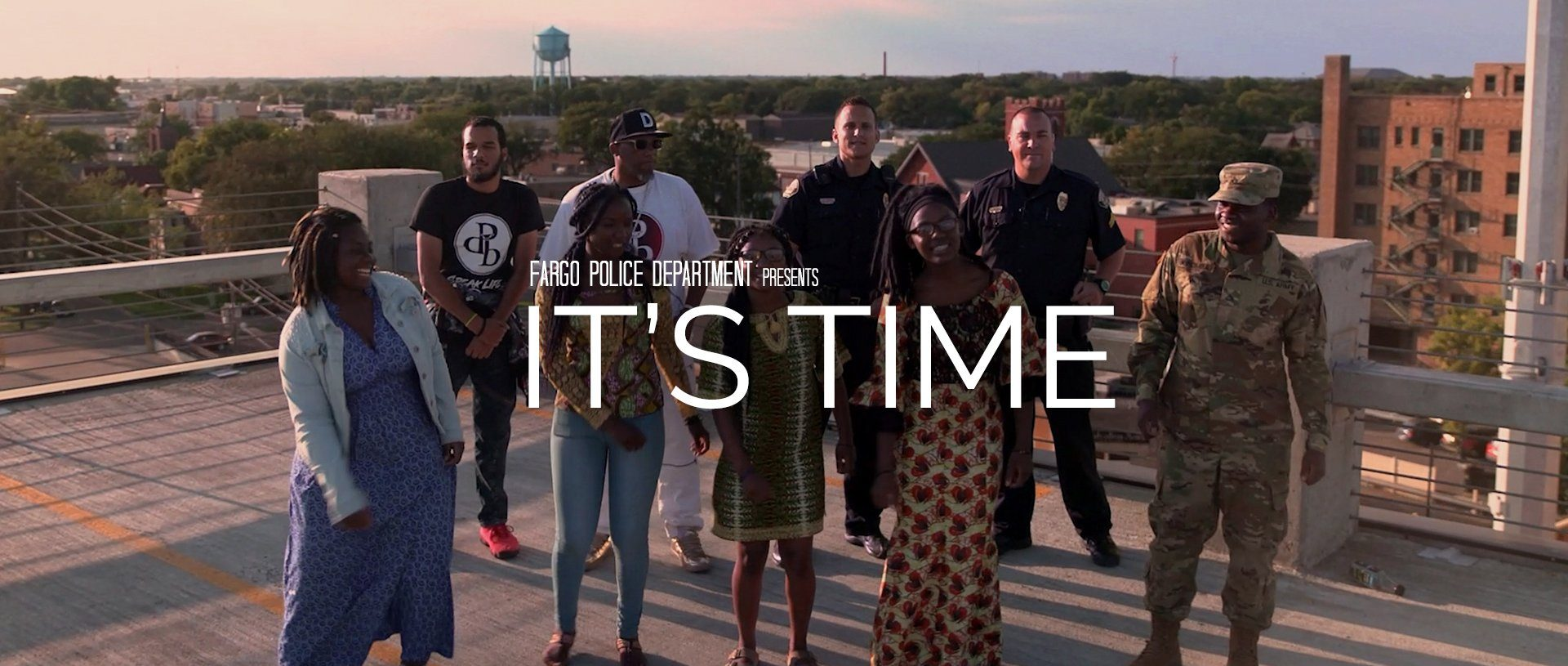It's Time Music Video | Fargo Police Department