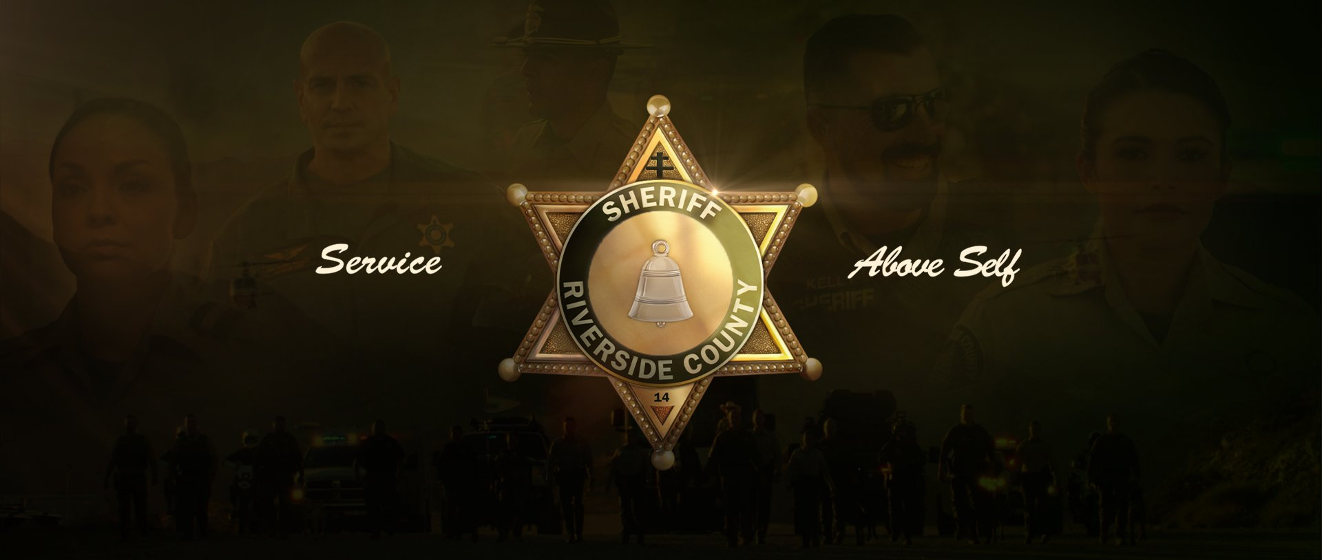 Service Above Self | Riverside County Sheriff's Department